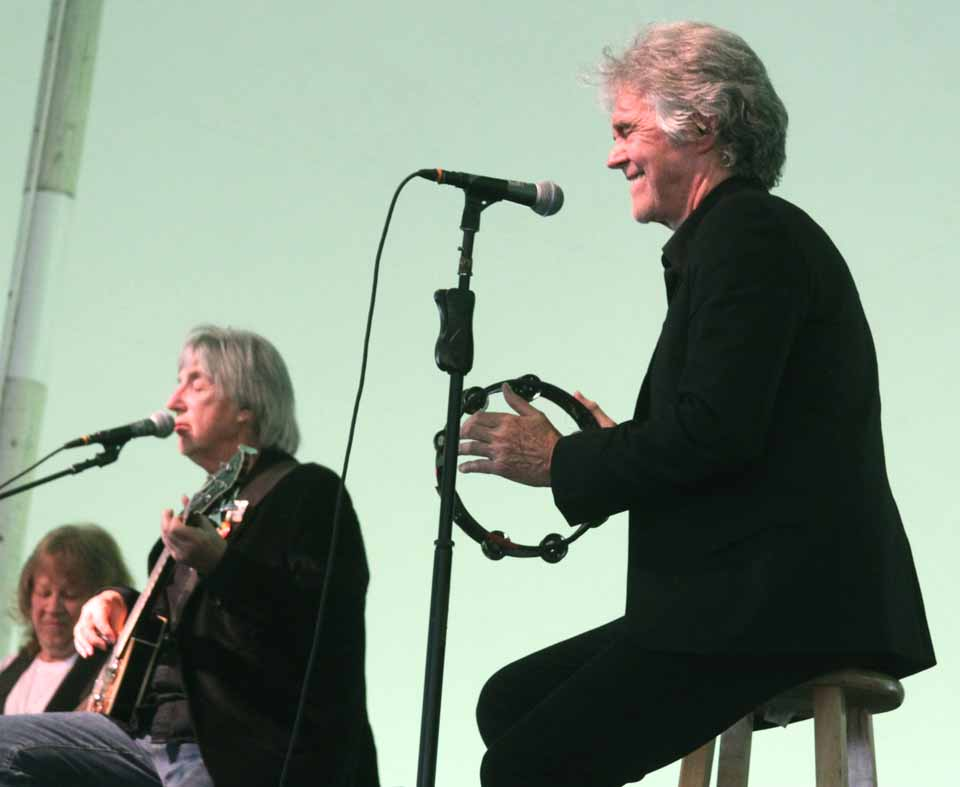 The sounds of Danny Hutton, right, and Cory Wells, original Three Dog Night vocalists who wrote many of the band's greatest hits, could be heard in the City of the Hills this evening.